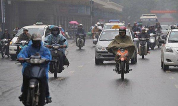 Dự báo thời tiết 3/4: Hà Nội sắp trở lạnh kèm mưa dông