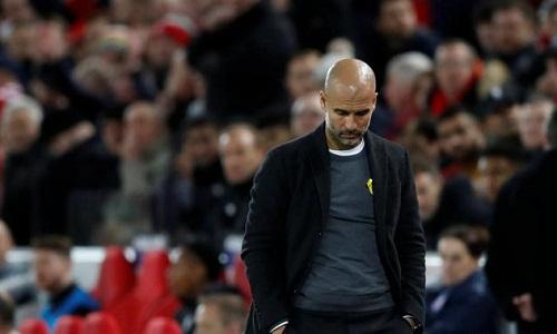 Guardiola thừa nhận mắc sai lầm chiến thuật trước Liverpool