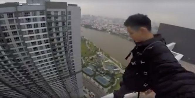 Anh chàng đánh đu với tử thần trên tầng 38 giữa Sài Gòn nói gì?