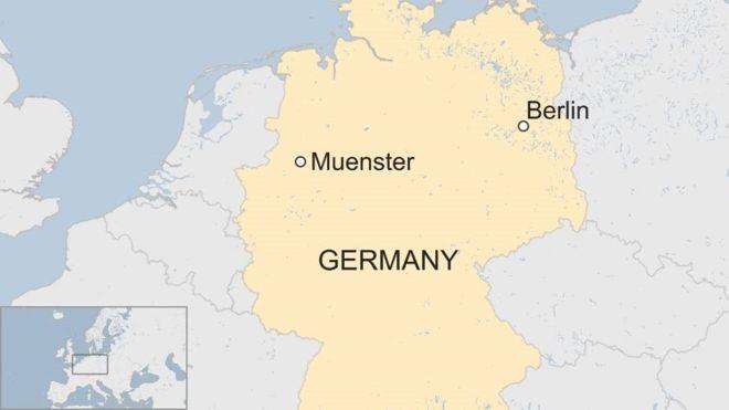 Xe tải lao vào người đi bộ ở Đức, nhiều thương vong