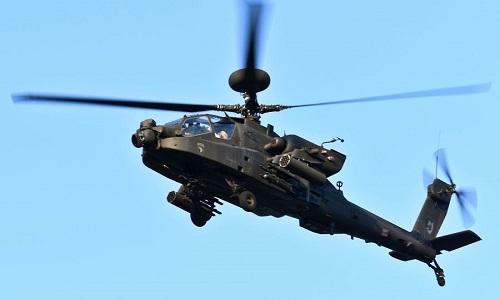 Trực thăng Apache Mỹ rơi, hai phi công thiệt mạng