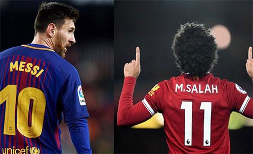 Messi bắt kịp Salah, cùng dẫn đầu cuộc đua Giày Vàng