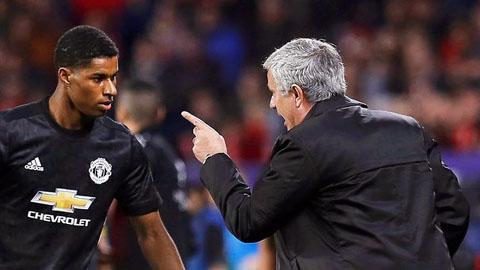 Rashford không vui nếu Mourinho vẫn tại vị ở M.U