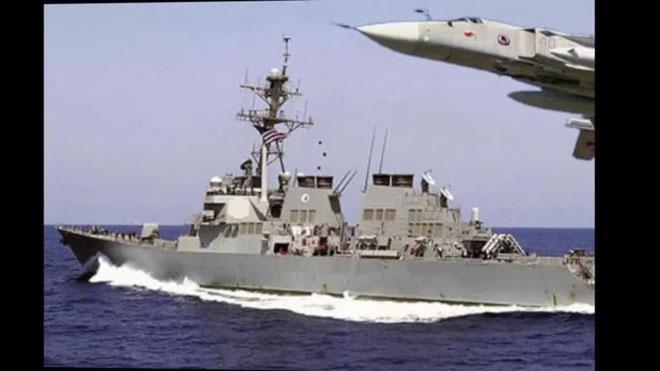 Đòn thù Nga có thể dành cho khu trục hạm Mỹ nếu tấn công Syria