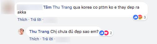 Sau chuyến đi Hàn, gương mặt của Hoa hậu hài Thu Trang ngày càng lạ lẫm?
