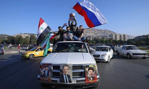 45 phút rung chuyển thủ đô Syria dưới đòn không kích của Mỹ