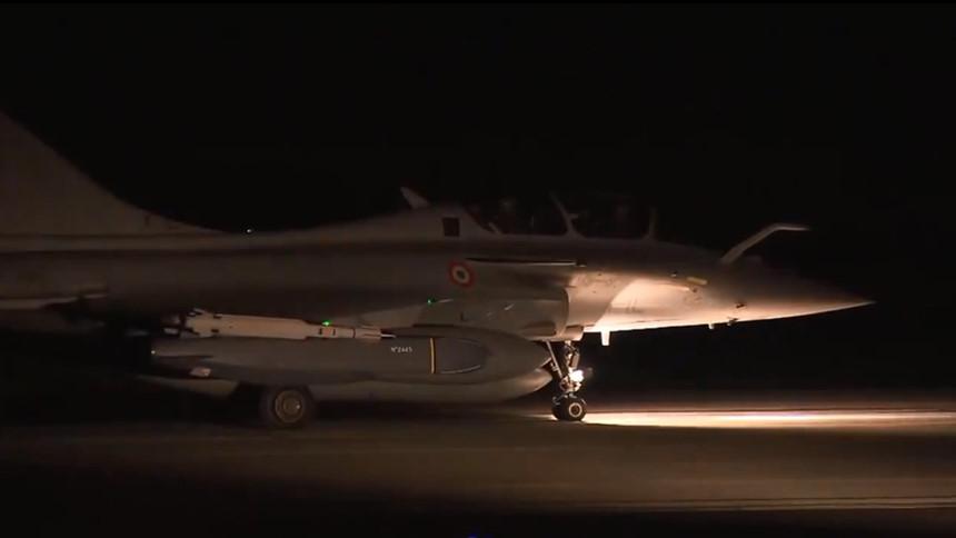 Liên quân đốt 137 triệu USD trong đợt tổng không kích Syria