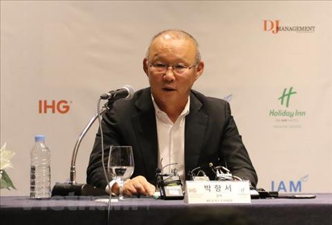 HLV Park Hang Seo dự lễ bốc thăm Asian Cup 2019