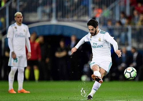 Tuyến giữa tỏa sáng, Real thắng dù vắng Ronaldo và Bale