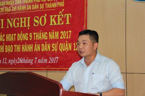 Kỷ luật Chủ tịch UBND quận 12 Lê Trương Hải Hiếu vì có con nhưng chậm báo cáo