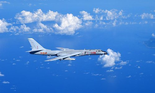 Trung Quốc điều oanh tạc cơ hạt nhân tuần tra gần Đài Loan