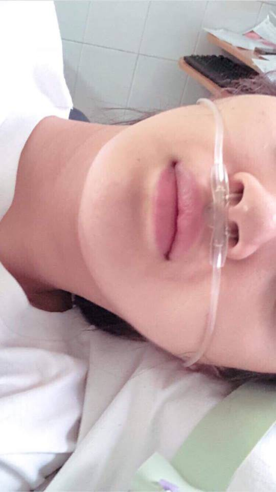 Hậu tin đồn hẹn hò thủ môn Tiến Dũng, Bảo Anh nhập viện vì kiệt sức, phải hủy show liên tiếp