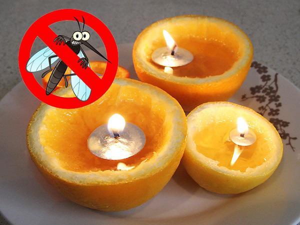 Tự làm vài cây nến chanh đuổi hết lũ muỗi khỏi nhà, vừa thơm lại rẻ như bèo