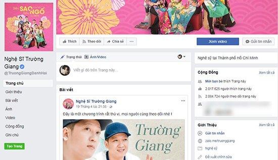Trường Giang bị mạo danh hàng loạt trên mạng xã hội