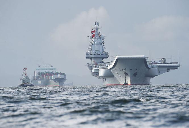 Trung Quốc thử nghiệm tàu sân bay nội địa 001A