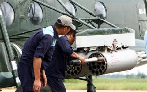 Sức mạnh hủy diệt của Mi-17 Việt Nam khi có rocket mới