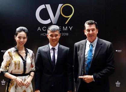 Công Vinh cho ra mắt học viện bóng đá cộng đồng CV9