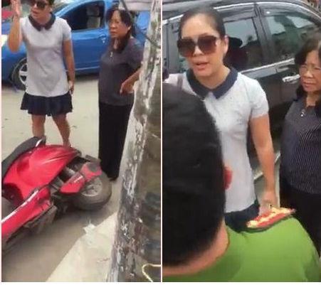 Nữ tài xế đất cảng tuyên bố con người không quan trọng tường trình do bị kích động mạnh, xin rút kinh nghiệm