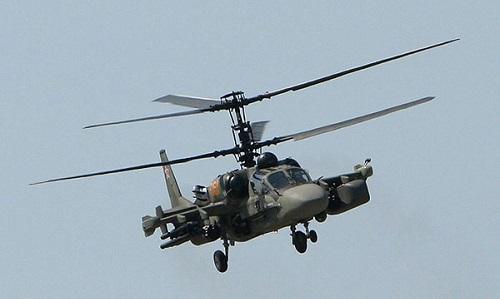 Trực thăng Cá sấu bay Nga rơi ở Syria, hai phi công thiệt mạng