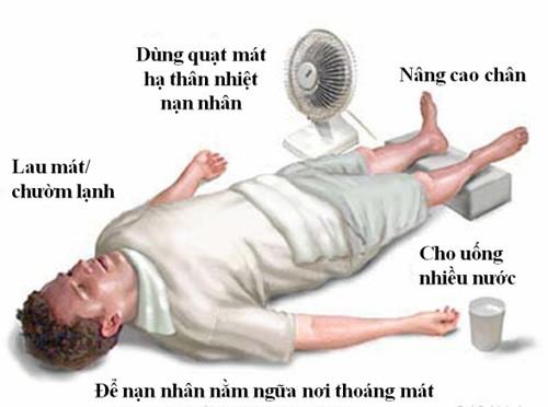 Say nắng, say nóng có nguy hiểm?