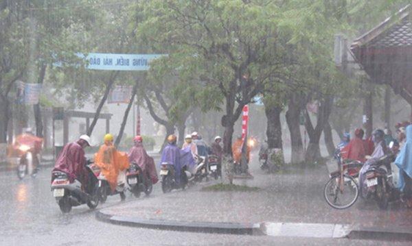 Dự báo thời tiết 9/5: Miền Bắc mưa dông, chấm dứt nắng nóng
