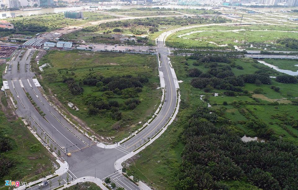 4 con đường 1.000 tỷ/km ở Thủ Thiêm đang làm đến đâu?