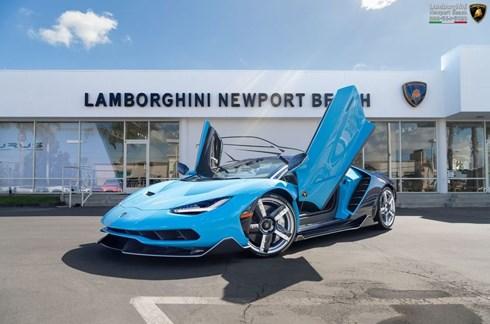 Lamborghini triệu hồi Centenario vì sai nhãn trọng lượng