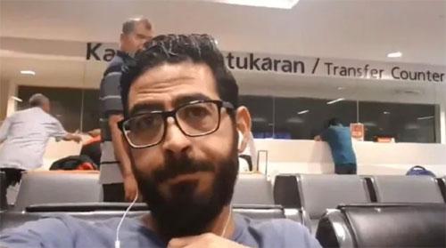 Người đàn ông không hãng bay nào muốn vận chuyển ở Malaysia