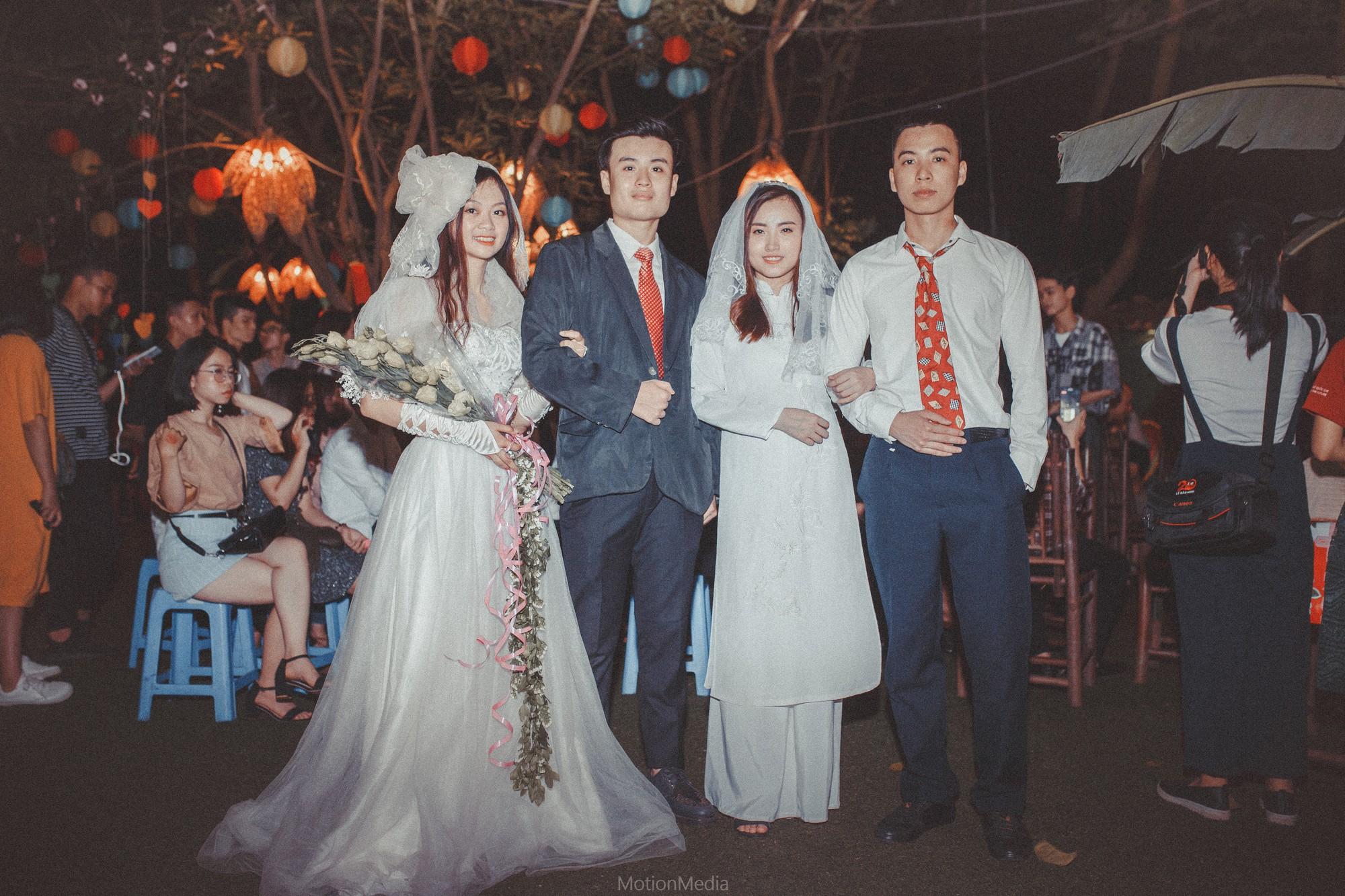 Sinh viên báo chí tổ chức triển lãm không gian cưới thập niên 80s, 90s ngay giữa lòng Hà Nội