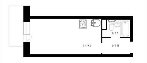 Ai bảo nhà nhỏ là không thoải mái, ngắm 4 căn hộ 20m2 này ai cũng muốn vào ở ngay