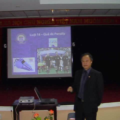 Cựu Còi vàng Võ Minh Trí bất ngờ được giới thiệu vào ban chấp hành VFF khóa 8