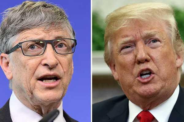 Bill Gates hai lần bị Donald Trump hỏi HIV khác gì HPV?