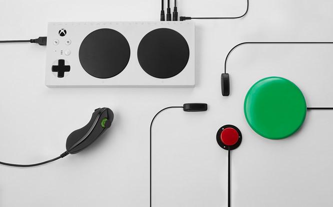 Microsoft giới thiệu thiết bị chơi game cho người khuyết tật