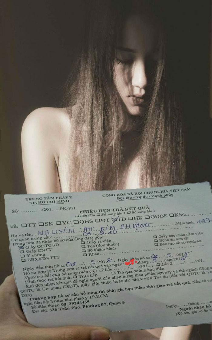 Có tế bào nam trong vùng kín nữ mẫu nude tố bị họa sĩ hiếp dâm?