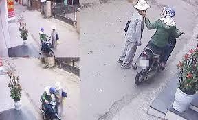 Nam sinh ngoan ngoãn giao xe máy điện cho người lạ khi bị thôi miên