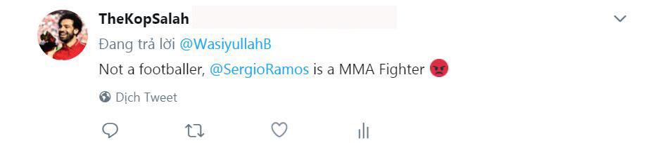 CĐV phẫn nộ với pha bẻ vai như võ sĩ MMA của Ramos với Salah