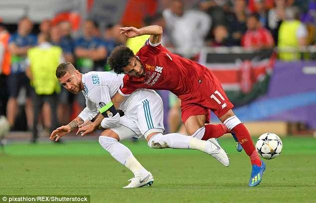 Nếu kịp dự World Cup 2018, đâu là cơ hội để Salah báo thù Ramos?