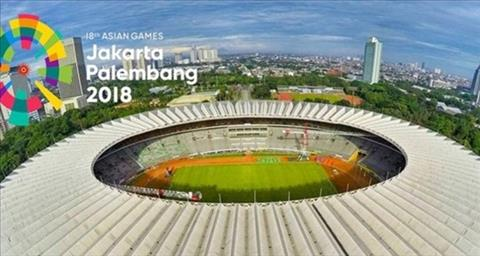 Môn bóng đá nam ASIAD 2018 sẽ thi đấu tương tự World Cup 2018