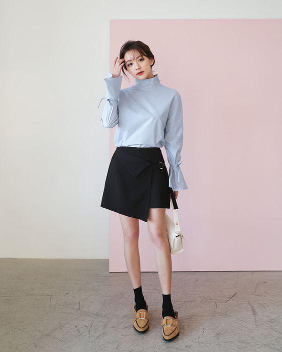 5 cách phối đồ với chân váy ngắn chữ A vừa đẹp vừa lôi cuốn