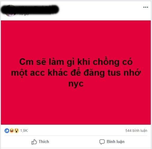 Than thở chồng lấy tài khoản Facebook mới đăng đàn nhớ người yêu cũ, mẹ bỉm sữa được dân mạng nhiệt tình chỉ cách trị