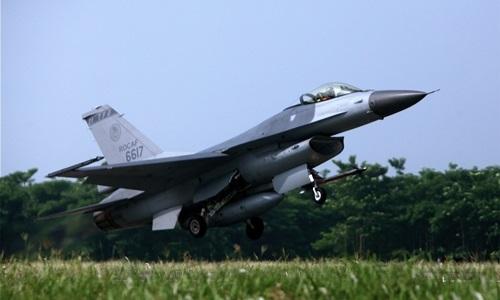 Tiêm kích F-16 Đài Loan rơi, phi công thiệt mạng