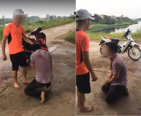 Hẹn bà bầu đi nhà nghỉ, nam thanh niên bị đánh sấp mặt