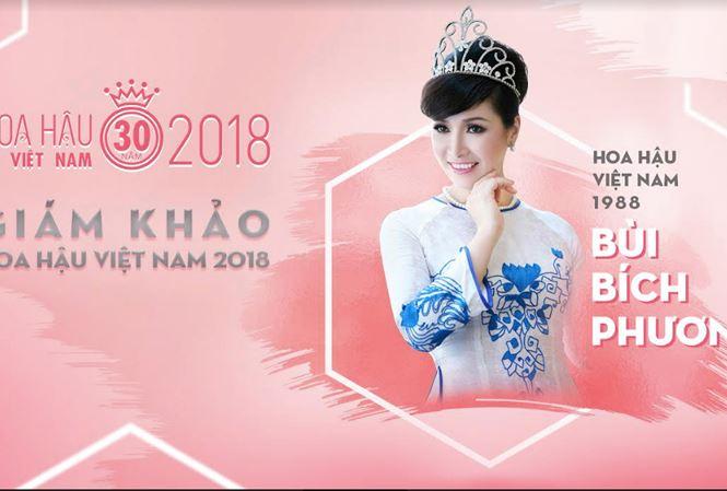 Lộ danh tính vị giám khảo thứ hai của Hoa hậu Việt Nam 2018