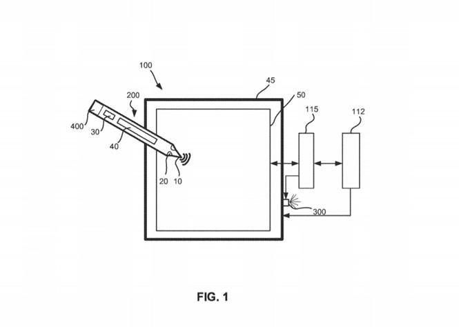 Microsoft công bố bằng sáng chế Surface Pen chạy bằng năng lượng ánh sáng