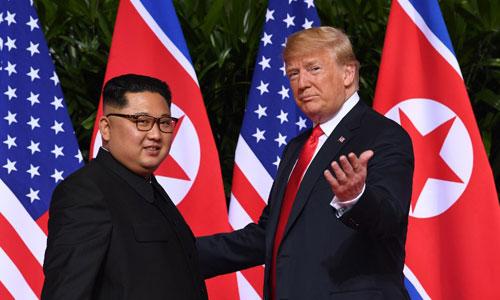 Nút bấm hạt nhân của Trump và Kim khi họp thượng đỉnh ở Singapore