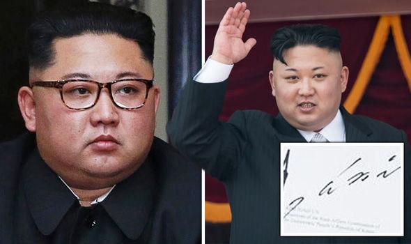 Chữ ký của ông Kim Jong-un tiết lộ điều gì?