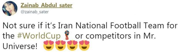 Không phải Italy, dàn tuyển thủ Iran như người mẫu này đang gây sốt ở World Cup 2018