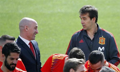 Real tiết kiệm 2,35 triệu đôla sau khi Tây Ban Nha sa thải Lopetegui