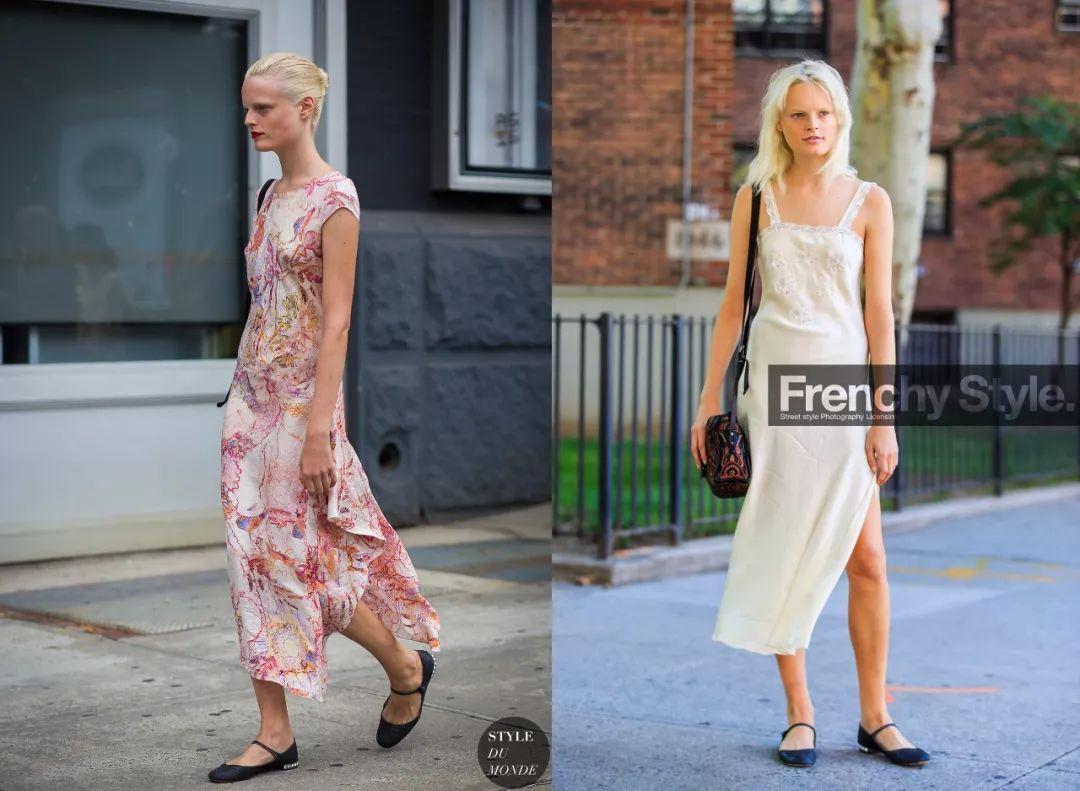 Mặc váy đâu phải cứ giày cao gót mới đẹp, đi giày dép bệt cũng chất không kém!