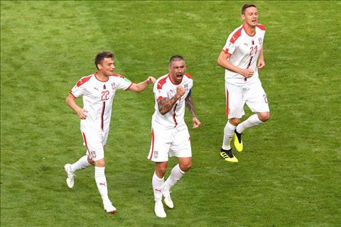Những thống kê đáng nhớ sau trận đấu Costa Rica 0-1 Serbia